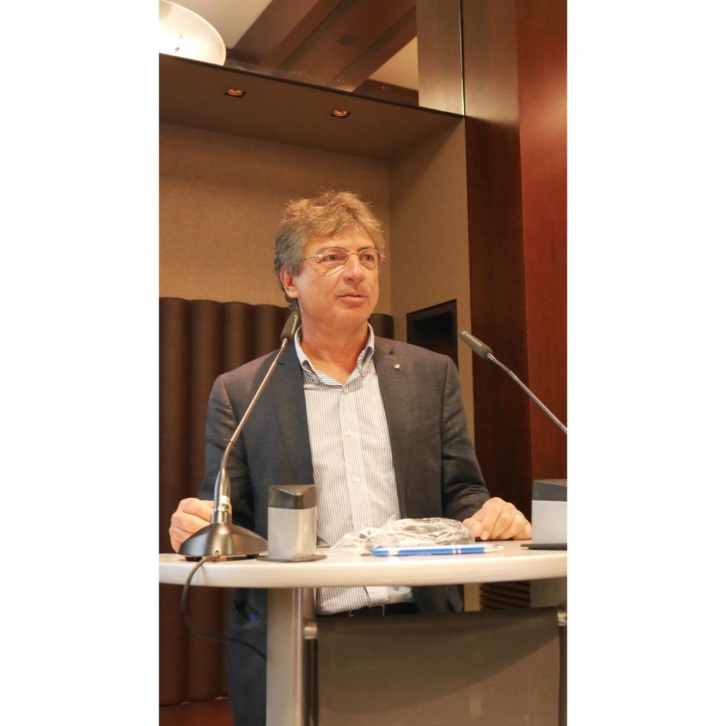 Vorstandsvorsitzender Mark Stephen Pace berichtet über die Herausforderungen der Corona-Krise für die Verbandsarbeit.