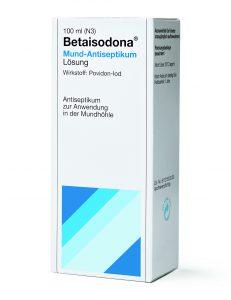 Packshot Betaisodona® Mund-Antiseptikum © Mundipharma