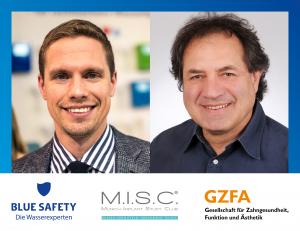Frank Weiß, Geschäftsführer Der GZFA, Und Jan Papenbrock, Gründer Und Geschäftsführer Von BLUE SAFETY