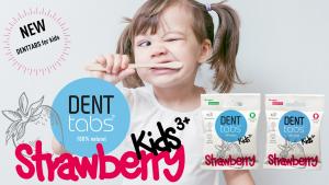 DENTTABS Kids Strawberry