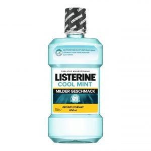 Listerine Cool Mint Milder Geschmack 600ml