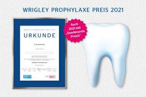 Wrigley Prophylaxe Preis 2021