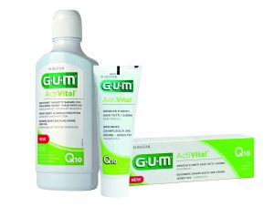 Packshot Produktrange GUM® ActiVital®