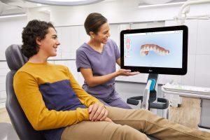 Die iTero Element Plus Serie bietet per verbesserter Visualisierung eine optimierte Patientenerfahrung.