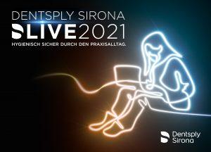 """Mit dem zweiten digitalen Kongress """"DS Live 2021"""" am 21. Mai führt Dentsply Sirona die Teilnehmer hygienisch sicher durch den Praxisalltag."""