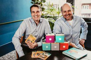 Startup-Gründer Gründer Till Weitendorf und CEO Martin Kurzhals
