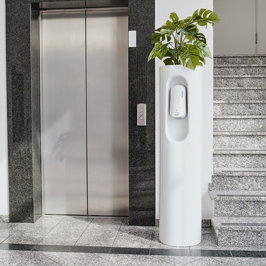 CleanGreen Design Desinfektionssäule